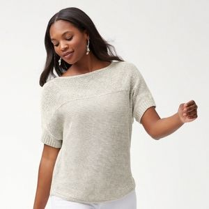 TOMMY BAHAMA I Women's linen sweater